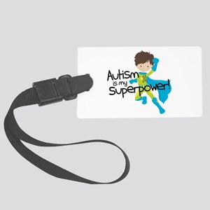Autism Superpower Large Luggage Tag